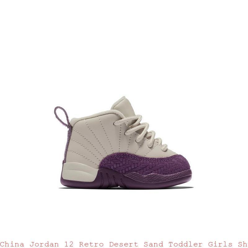 timeless design c8850 de687 China Jordan 12 Retro Desert Sand Toddler Girls Shoe - cheap kids jordans -  S0376