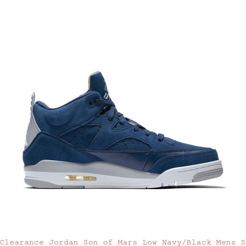 finest selection fe6f8 50e59 Clearance Jordan Son of Mars Low Navy Black Mens Shoe – cheap nike ...
