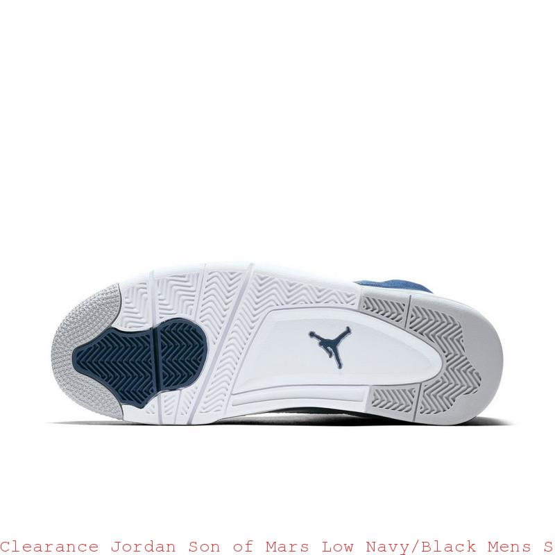 finest selection beb6c 5c1aa Clearance Jordan Son of Mars Low Navy Black Mens Shoe – cheap nike ...