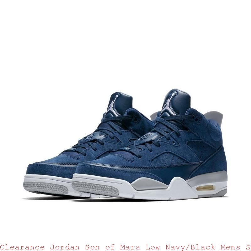 finest selection c9b37 1b8a9 Clearance Jordan Son of Mars Low Navy Black Mens Shoe – cheap nike shoes ...