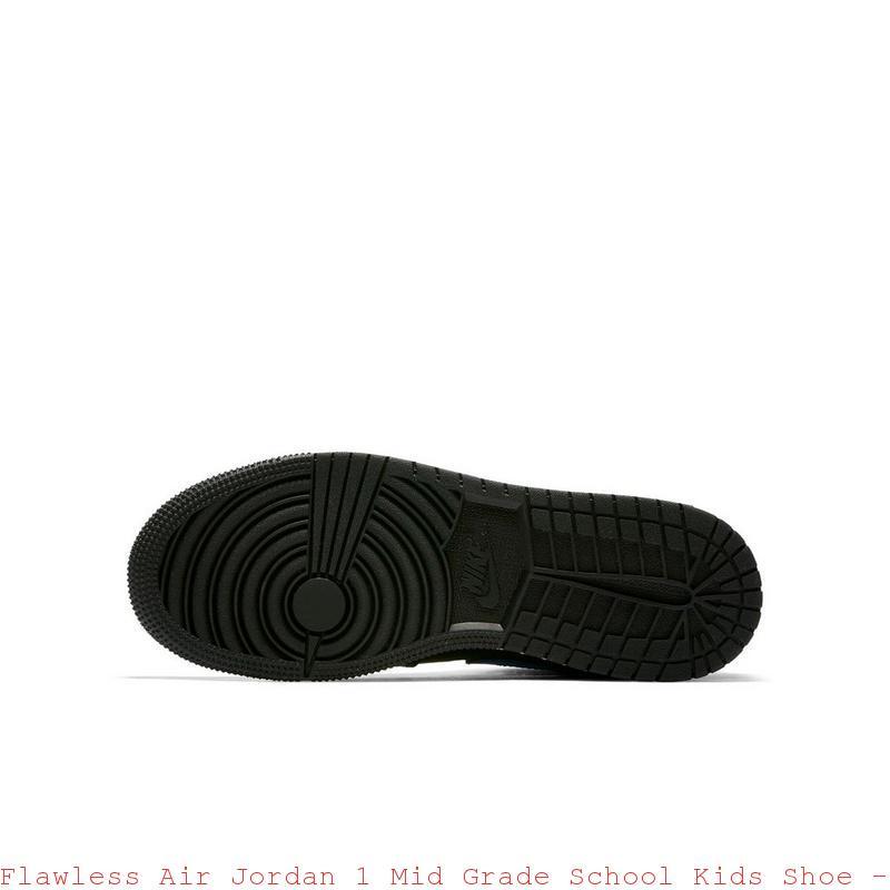 watch 72d00 d1803 Flawless Air Jordan 1 Mid Grade School Kids Shoe - cheap jordans 14 - R0174