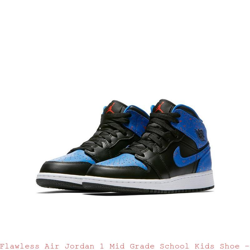 watch 72d00 d1803 Flawless Air Jordan 1 Mid Grade School Kids Shoe - cheap jordans 14 - R0174