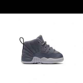 online store bca61 45fec For Sale Jordan Retro 12 Wolf Grey Toddler Boys Shoe - buy cheap jordans  online free shipping - R0051G