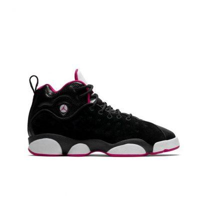 High Quality Jordan Jumpman Team II Black Pink Grade School Girls ... b54b9cdab