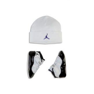 d08b37f96712ca ... max shoes black and white - S0233 £64.46  Loudon Jordan 11 Retro  Concord Infant Crib Pack - cheap jordans website - R0412 ...