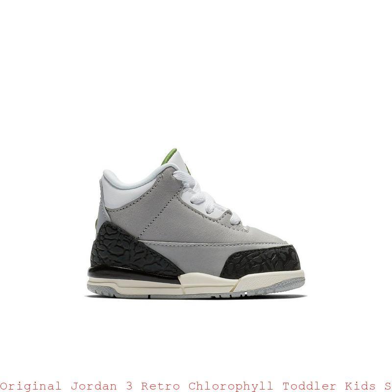 Original Jordan 3 Retro Chlorophyll